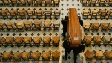 Attending ones own funeral is the stuff of movies and nightmares