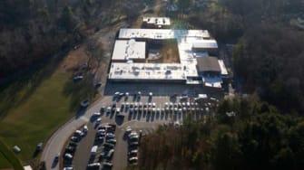 Sandy Hook Elementary School in Newtown, Connecticut: Site of a massacre.