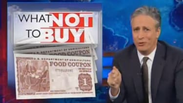 Watch The Daily Show ask Fox News why the poor shouldn't eat seafood