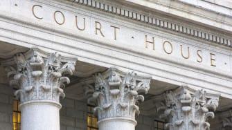 Court house pillars.