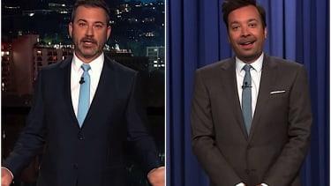 Jimmy Kimmel and Jimmy Fallon recap Mueller's testimony