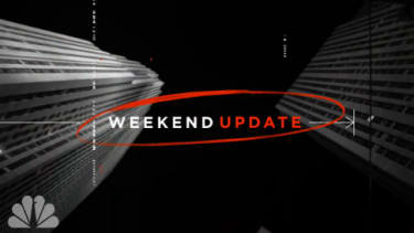 The Weekend Update opening sequence.