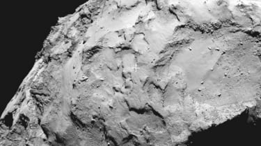 The European Space Agency announces spot where the Rosetta probe will land on comet