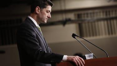 Paul Ryan's no good very bad day.