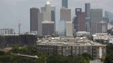 Houston, Texas, skyline.