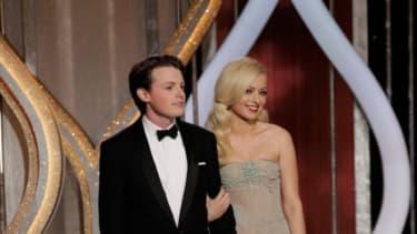 Sam Fox and Francesca Eastwood at the Golden Globes: Back off, Taylor Swift.