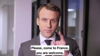 Emmanuel Macron invites American scientists to flee to France.