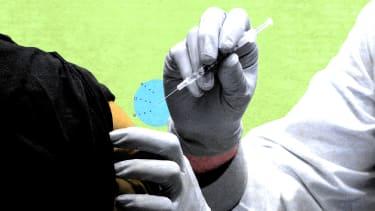 A vaccine.