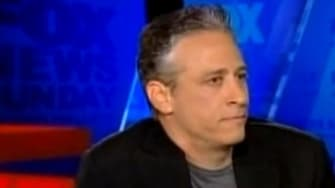 """""""Daily Show"""" host Jon Stewart sparred Sunday with Fox News' Chris Wallace, and critics are split on who won this round."""