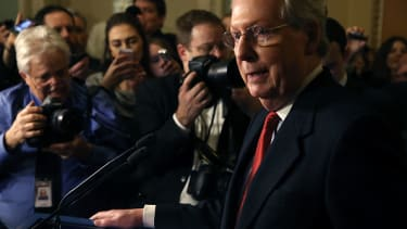 Senate Majority Leader Mitch McConnell said he will confirm Neil Gorsuch by any means.