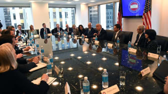 Donald Trump and his children met with tech leaders.