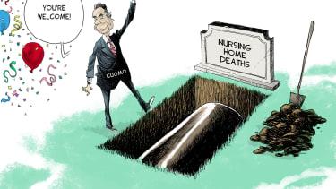 Political Cartoon U.S. cuomo covid nursing home deaths