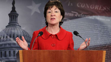 Sen. Susan Collins wants to see President Trump's tax records.