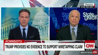 Jake Tapper and John McCain on CNN