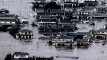 Parts of northeastern Japan are submerged after a catastrophic 8.9-magnitude earthquake, and subsequent tsunami.