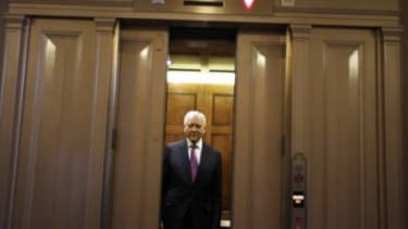 Sen. Orrin Hatch (R-Utah) at the Capitol in Washington, D.C.: The six-term senator faces a potentially tough primary challenge from a Tea Party-backed conservative candidate.