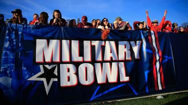 Pentagon drops big bucks on marketing at bowl games