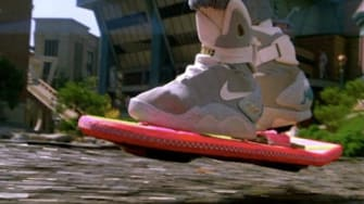 """The hoverboard in """"Back to the Future II"""""""