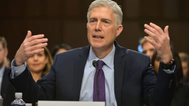 Supreme Court nominee and avowed human Neil Gorsuch.
