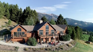 A home in Montana.