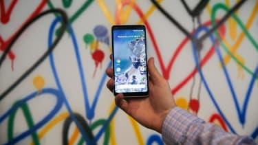 The new Google Pixel 2 phone