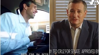 Beto ORourke and Ted Cruz release final ads