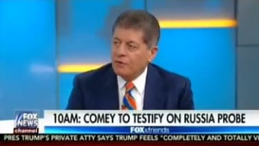 Judge Napolitano cautions the Fox and Friends hosts not to celebrate too soon.