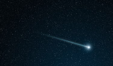 Green comets and lunar eclipse.