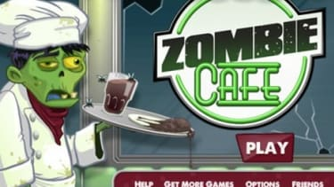 """Zombie Cafe is free to download from iTunes but requires players buy virtual items like """"Zombie Toxin"""" that cost real money."""