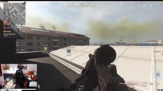 US Army esports Twitch stream.
