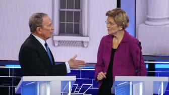 Mike Bloomberg and Elizabeth Warren.