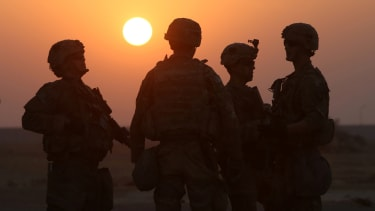 American soldiers in Iraq.