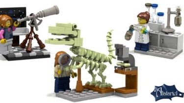 LEGO launches long-overdue, all-female set featuring STEM careers