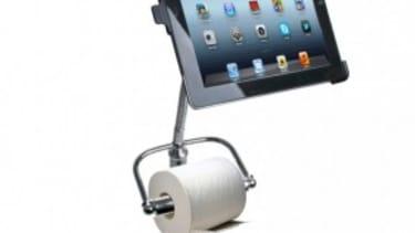 The bathroom-friendly iPad stand