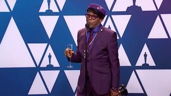 Spike Lee on his Oscars win