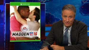 Jon Stewart gets nostalgic for when the NFL's biggest fear was the 'distraction' of a gay player