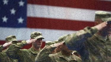 American troops.
