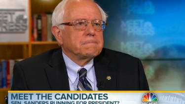 Sen. Bernie Sanders confirms he's 'thinking' about running for president