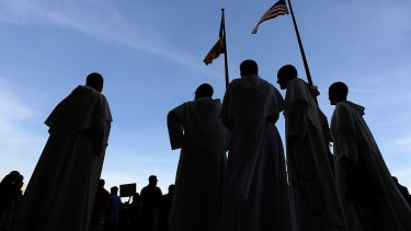 A rally for religious freedom in Washington, D.C.