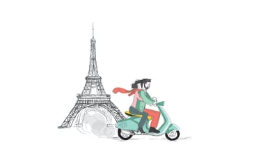 What is it about Paris and romance?