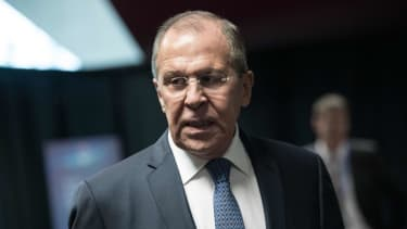 Russian Foreign Minister Lavrov.