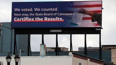 Billboard in Michigan.