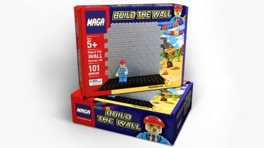 A Trump border wall kit.