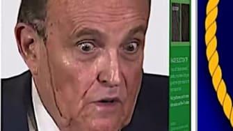 Late night comedians mock Rudy Giuliani