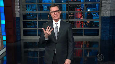 Stephen Colbert takes Melania Trump's criticism a little personally