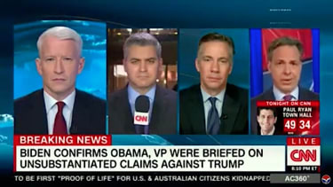 CNN journalists discuss Donald Trump and the truth