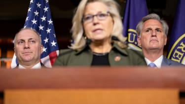 Steve Scalise, Liz Cheney, Kevin McCarthy