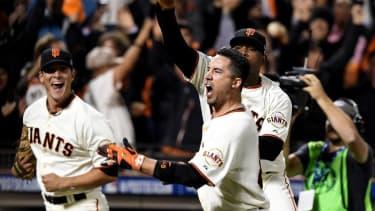 San Francisco Giants advance to the World Series