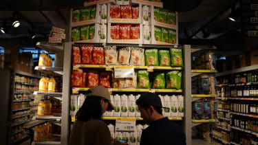 Inside a Whole Foods Market.