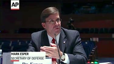 Mark Esper testifies